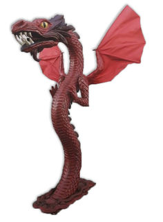 Dragon Large (H250cm x W50cm x D140cm) Total stock=2