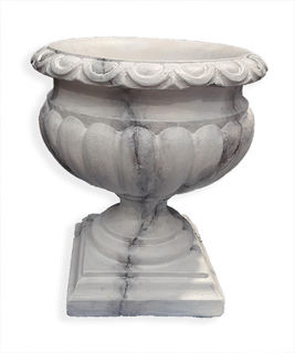 (n) Urn Plastic Marbled Small (H55cm)