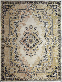 Persian Cream/Brown/Green Design (1.2m x 1.6m)