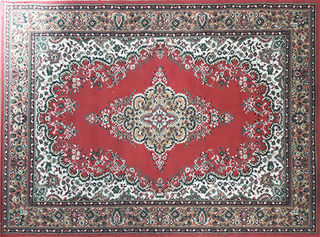 Persian  Red (1.2m x 1.7m)