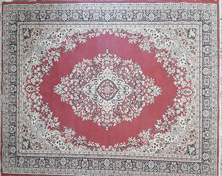 Persian Red/Blue/Beige Design (2m x 2.9m)