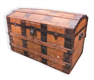 Treasure Chest #18 (H55cm x D50cm x W90cm)