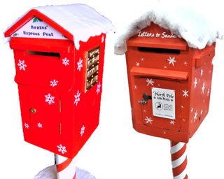 Postbox Christmas (1.3m high)