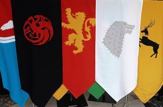Game of Thrones House Banners (140 x 55cm)
