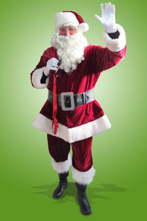 Santa Suit Dark Red Velvet $140 ex GST