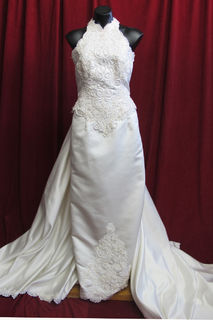 Wedding Dress Halter Neck sz.12 45320139