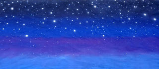 Starry Starry Night backdrop 8 x 3m