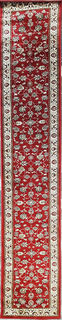 Persian Runner, Red, Cream (4 x 0.8m)