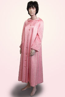 Dressing Gown Pink Quilted