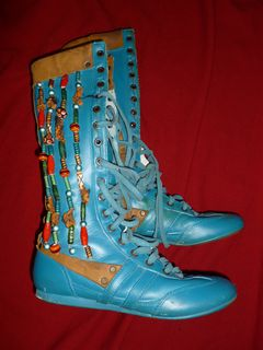 Haiawatha Beaded Boots