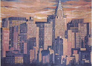 New York Twilight (10m x 4.2m)