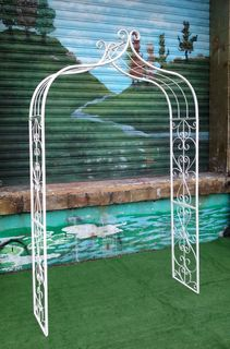Wedding Arch #2 Narrow Ornate (2.30m x 1.20m x 0. 45m)