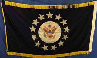 USA Presidential 13 star (1.5m x 0.9m) [mat=polyester]