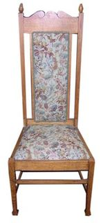 Chair #030 Tall Tapestry