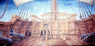 Pirate Ship (8m x 4m)