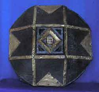 Shield Barbarian Octagon Brass (0.6m x 0.6m) [x= 4]