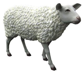 Sheep Life Size (H.5m x 1.3m)