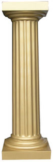 Plinth (b) Fluted Gold (0.9m) [x=4]