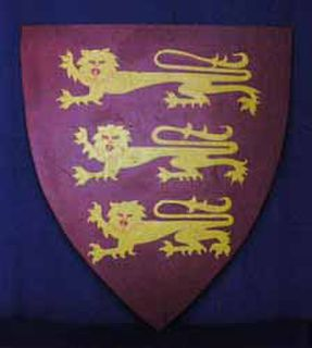 Shield Medieval Richard The Third (H66cm W60cm)