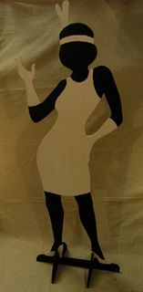 Gangster Cutout Woman (H189cm x W72cm) [x= 3]