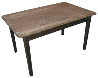 Kitchen Table #10 Kauri Top Dark Legs (0.8m x 1.4m x 0.9)