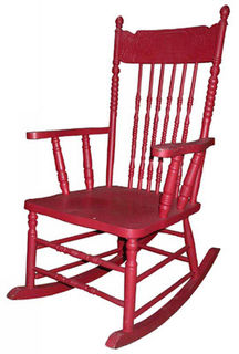 Rocking Chair #02 Red