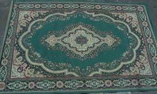 Persian Beige / Green/ Cream Design (0.95m x 1.45m)