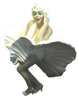 Marilyn Monroe Life Size (H1.65m) [x=2]