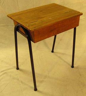 Desk School #001 Wooden (H71cm  W60cm  D46cm) 10 in stock.