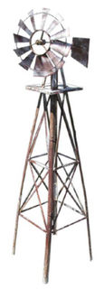 Windmill Metal  Small (1.45m x 0.35m x 0.6m)