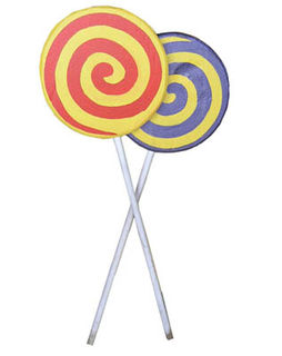 Lollipops Small (1.4m x 0.46m)