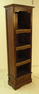 Bookshelf 007 Dark Wood Slender (1.8m x 0.58m x 0.33m)