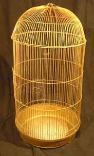 Birdcage #09 Gold Medium (H0.9m x D0.4m)