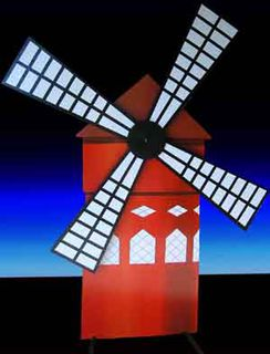 Moulin Rouge Windmill