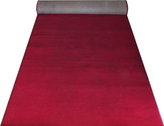 Indoor Red Runner Dark (1.2m x 6m) [in]