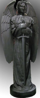 Dark Angel With Sword (H 2.5 m x 1m)