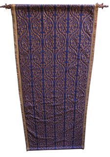 Banner Medieval Blue And Gold 270 cm x 110 cm