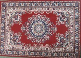 Persian Rug/Red/Blue/White Design (1.7x1.2m)