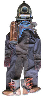 Deep Sea Divers Suit (Helmet/Tank/Overalls/Gloves/Boots)