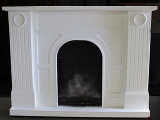 Fireplace #005 White  Large  (192cm x 145cm x 55cm)`