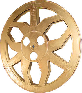 Gold Film Reel (35 cm )