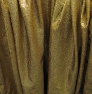 Curtain Gold Lame (4m x 4m) 4 available