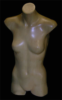 Mannequin #09 Female Torso  (0.72m). 3 in stock.