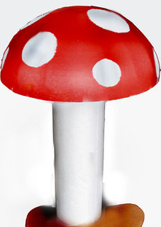 Medium Poly Toadstool (D 46cm x H 50cm) [x=2]
