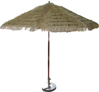 Large Island Umbrella & Base (D2.6) (separate from bar)