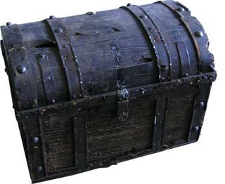 Treasure Chest #19 (H40cm x D40cm x W56cm)