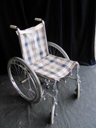 Wheelchair (g) Tartan Fabric