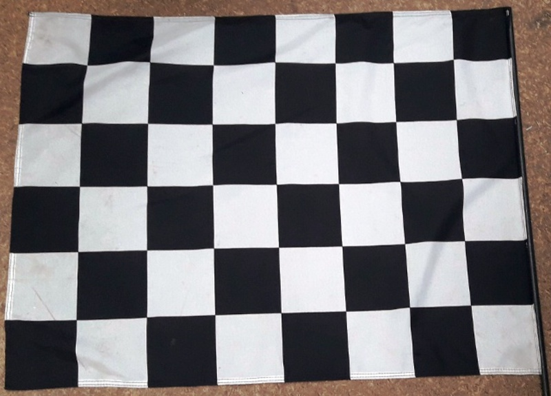 Chequered Racing #1 (0.8m x 0.7m  stick