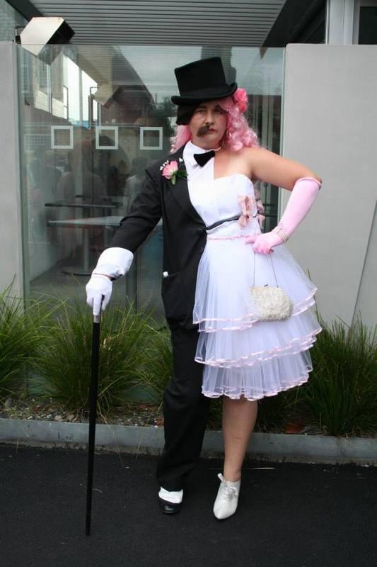 Half Man Half Woman First Scene Nzs Largest Prop Costume