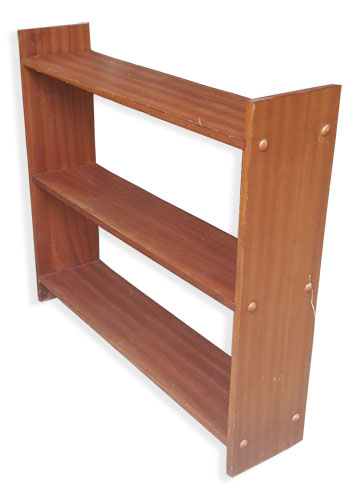 Shelves Wooden 1970s (73 x 83 x 19cm)
